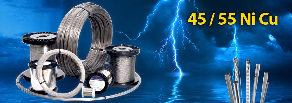 45/55 Ni Cu Resistance Wire